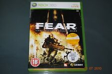 F.E.A.R Xbox 360 First Encounter Assault Recon FEAR UK PAL