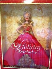 Barbie Holiday 2014 Collector Series With Stand Blonde Christmas Doll Sealed New