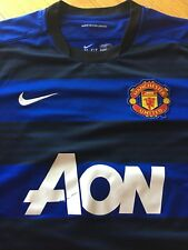 Mens Nike Manchester United Away Shirt #22 Scholes Large