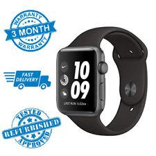 Apple Watch Nike+ Series 3 42mm GPS Space grey Black Sport Bands - WARRANTY