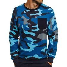 Jerséis y cárdigan de hombre en color principal azul 100% algodón talla S