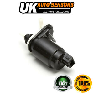FOR VAUXHALL ASTRA H (MK5) FRONT & REAR TWIN OUTLET WINDSCREEN WASHER PUMP