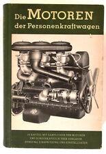 Die Motoren der Personenkraftwagen Chr. Belser 1952