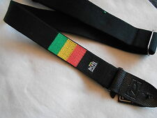 BOB MARLEY BAND BOB01 ADJUSTABLE JIM DUNLOP ELECTRIC,ACOUSTIC,BASS GUITAR STRAP