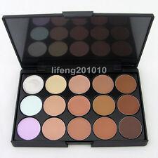 Professional 15 colors Camouflage Concealer Make up Cream Palette 15FG