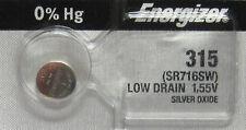 315 Energizer Watch Battery 1 Battery