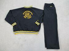 Drunkn Munky Track Suit Adult 3XL XXXL Black Yellow Jacket Coat Pants Mens