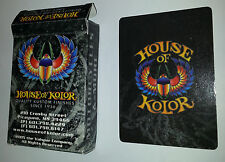 House of Kolor Playing Cards Kustom Cards Trucks Poker Deck NEW