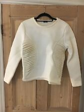 2nd Day Birger Et Mikkleson Small White Structured Top Jumper