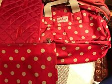Cath Kidston Baby Changing Nappy Bag Red Spot Polka Dot