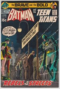 Brave And The Bold #94 VF 8.0 Batman Teen Titans 1971!