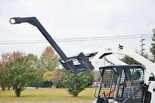"""Bobcat Skid Steer Attachment - 60"""" Curved Tree Boom Lifting Pole - Ship $199"""