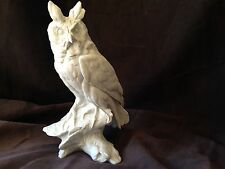 KAISER Porcelain Bird - LARGE EXQUISITE Bisque Long-Eared Horned Owl #559 TAY