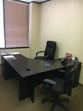 Used office furniture in good condition ( less than 2 yrs old)