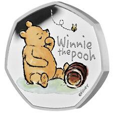 50 Pence Silver Proof Winnie Pooh United Kingdom 2020 Royal Mint Great Britain