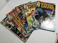 Tarzan Lord of the Jungle #25-29 Run VG/FN 1979 (Marvel Comics)