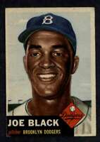 1953 Topps #81 Joe Black VGEX SP Dodgers A5023