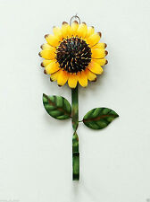 Grace Home Metal Sunflower Hook Wall Kitchen Keys Coats Utilities  Decor Hanger