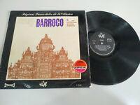 """Grandes Maestros del Barroco 1970 Bach Vivaldo - LP 12"""" Vinilo VG/VG"""