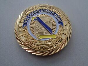 (A43-07) US Coin 23D Quartermaster Brig Commander´s Coin