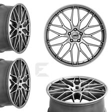 4x 17 Zoll Alufelgen für Honda Prelude / AEZ Crest 7,5x17 ET48 (B-7300719)
