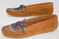 Shoes Minnetonka Moccasins Women Leather Size 6