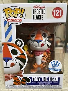 🐯TONY THE TIGER 121- KELLOGG'S FROSTED FLAKES Funko Shop Exclusive SHIPS NOW