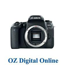 NEW Canon EOS 77D Body 24.2MP Full HD DSLR Camera 1 Yr Au Wty