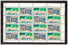 CANADA 1980 MNH O Canada song 2v MS       s23212