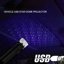 USB Car Atmosphere Lamp Interior Ambient Star Light LED Starry Projector Sky uk