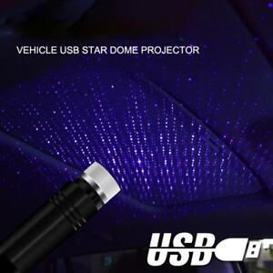 USB Car Atmosphere Lamp Interior Ambient Star Light LED Starry Projector Sky