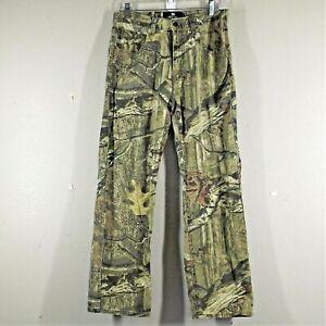 Mossy Oak Break Up Infinity Mens Camo Pants 100% Cotton Size 30x28