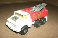 Vintage 1970's Matchbox Battle King Shell Oil Recovery Vehicle Wrecker K-14K-110