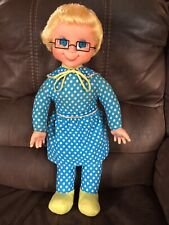 Original 1967 Mattel Mrs. Beasley - Cleaned and Repaired To Talk- L👀K!