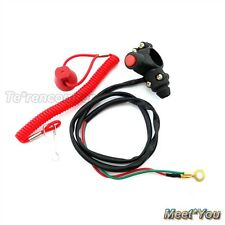 Kill Stop Tether Safety Switch Push Button For Pocket Dirt Bike Minimoto ATV