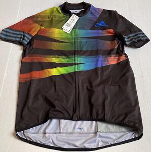 Adidas Adistar Pride Cycling Ciclismo Jersey Men's Size 2XL FJ6571 $160 NWT