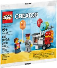 New Lego Promotional 2014 Balloon Cart 40108 Factory Sealed Htf