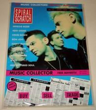 SPIRAL SCRATCH Music Magazine # 15 (April 1990)  DEPECHE MODE Cover