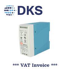 Meanwell MDR-40-5 40W 5 Vcc/6A PSU Guida DIN montato 000028
