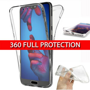 Case for Huawei P30 Pro Lite P20 360 Shockproof Protective Silicone Gel Cover