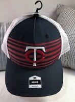 Minnesota Twins TC MLB Trucker Adjustable Snapback Baseball Hat Mesh Cap