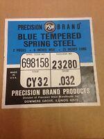 Precision Brand 25279 Arbor Shim,0.1250X1 3//8 Id,Pk10