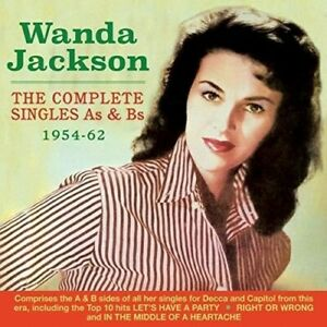 Wanda Jackson The Complete Singles As & Bs 1954-62 2 CD NEW