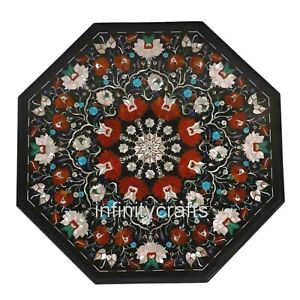 """27"""" Marble Coffee Table Mosaic Art Unique Design Center Table for Home Furniture"""
