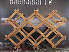 casier porte-bouteilles à croisillons en bois CURIOSITY by PN