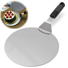 Stainless Steel Pizza Peel Bakers Paddle Spatula Stone Tray Pan Kitchen Tool