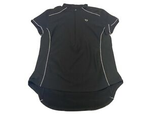 Pearl Izumi Women's XL Short Sleeve Cycling Shirt 1/2 Zip Biking Riding