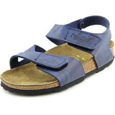 Chaussures bleues en toile pour fille de 2 à 16 ans