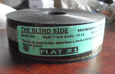 Unique 35mm Movie Theatre Used Film Trailer - The Blind Side Flat #1