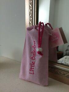 Little Ballerina Gingham Small Shoe Ballet Bag